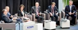 """Schlüsselfragen zur Zukunft der Öl- und Gasindustrie haben rund 150 Gäste aus 20 Nationen beim Forum """"Energy & Innovation"""" bei Rosen in Lingen diskutiert.Foto: Markus Kreihe"""
