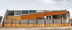 Dieses Solarhaus haben das Lingener Unternehmen Belutec und zwei Unis aus Berlin gebaut: das Rooftop. Foto: Julian Christian