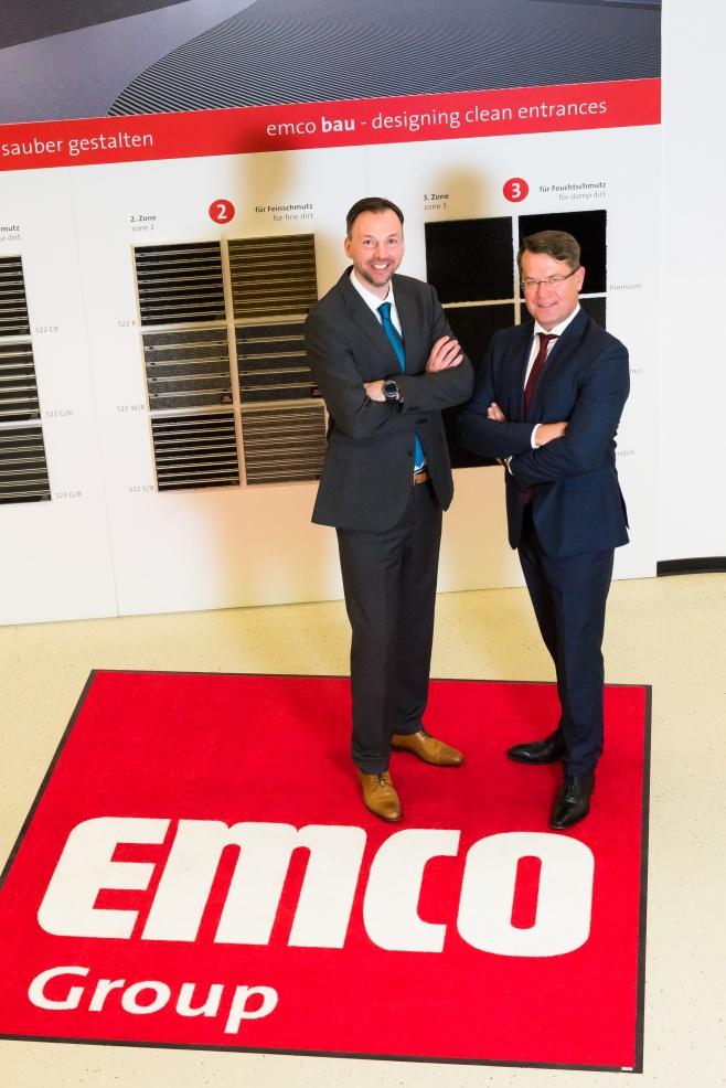 Hendrik Kampmann (l.) und Christian Gnaß freuen sich über die neue Win-Win-Situation, um ihre Unternehmen zukunftssicher auf Wachstum zu stellen.